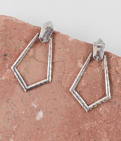 BKE Hammered Earring