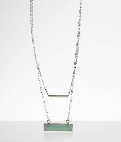 BKE Double Bar Necklace