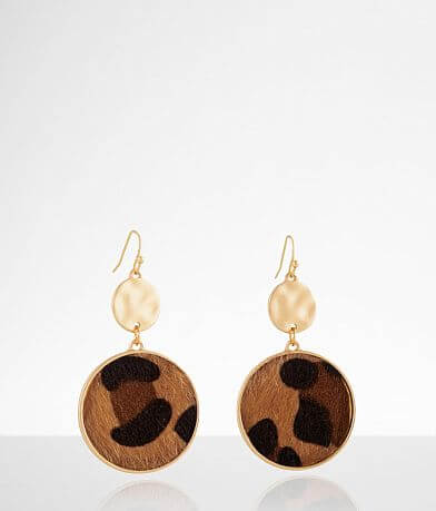 BKE Leopard Dot Drop Earring