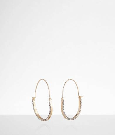 BKE Oblong Glitz Earring
