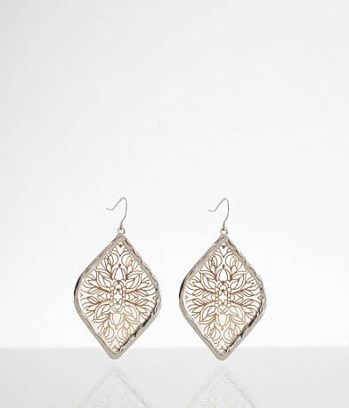 BKE Metal Drop Earring