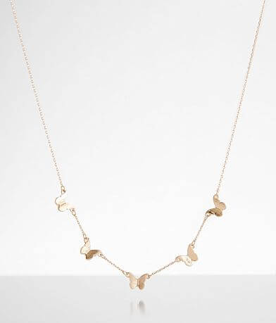BKE Dainty Butterfly Necklace