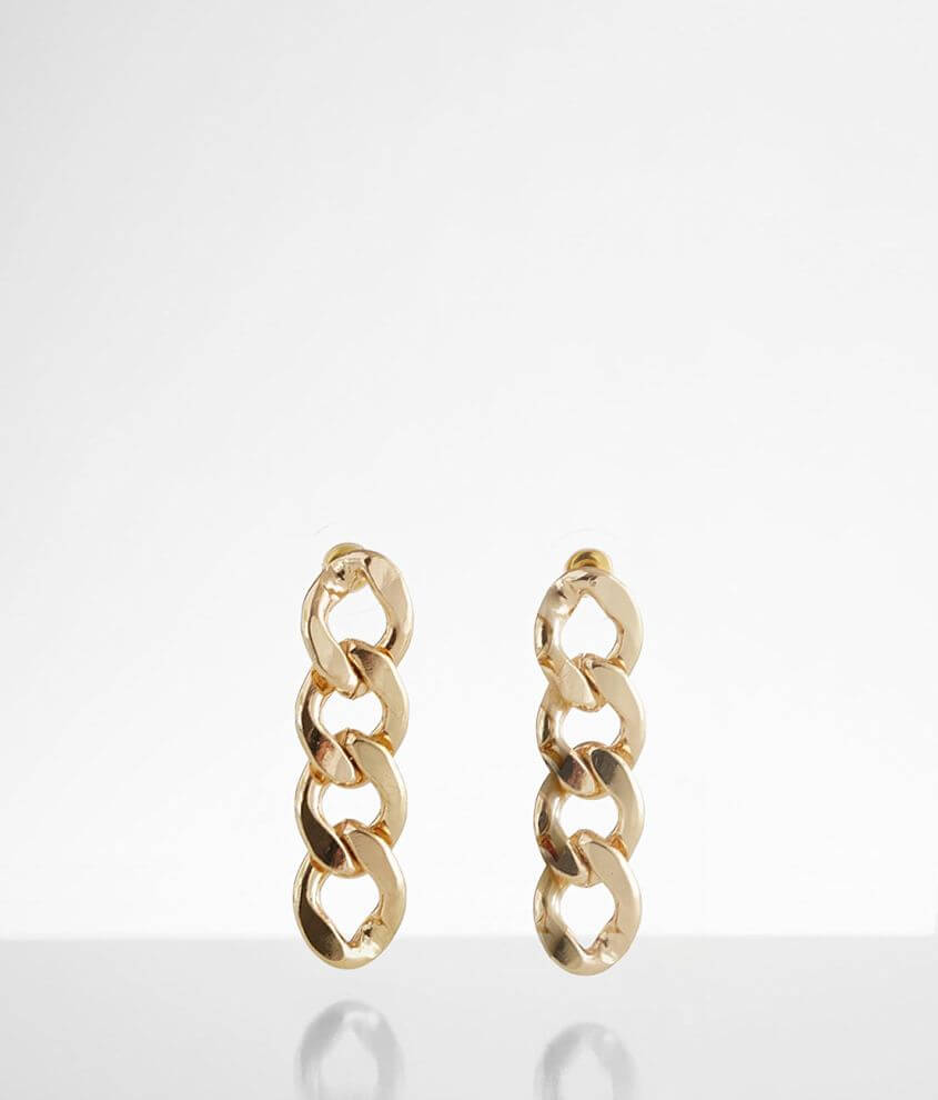 BKE Chain Link Earring front view