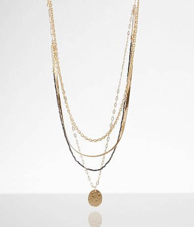 BKE Tiered Coin Necklace