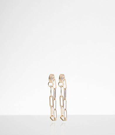 BKE Dainty Chain Earring