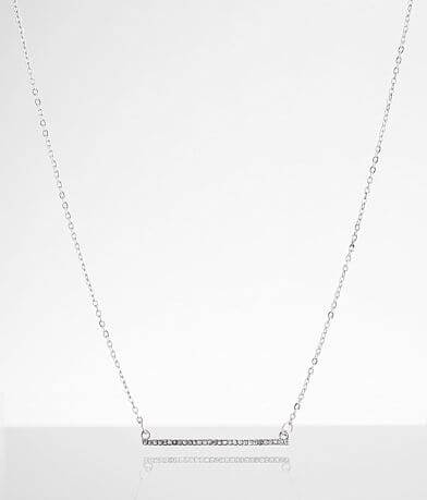 BKE Glitz Bar Necklace