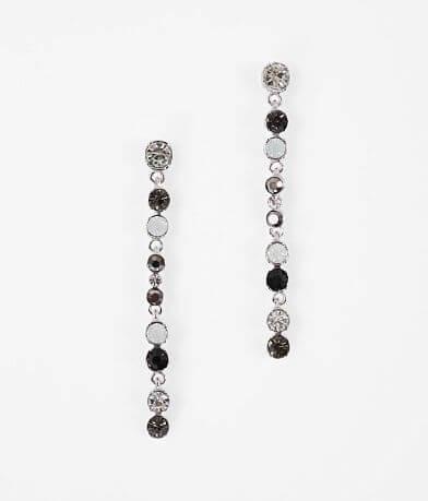 BKE Linear Hematite Earring