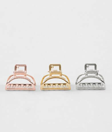 3 Pack Hair Clip Set