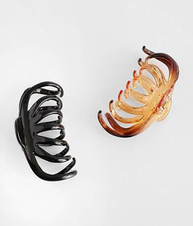 BKE 2 Pack Hair Claw Clip Set