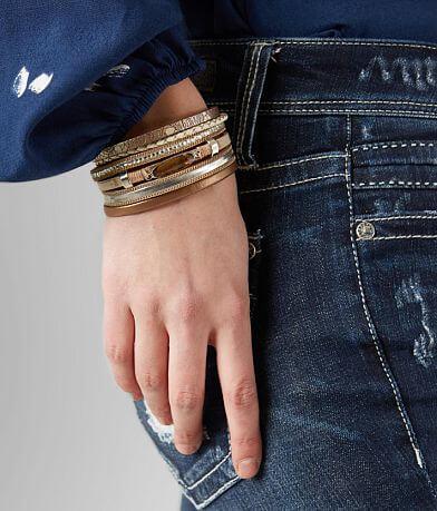 BKE Glitz Stone Bracelet