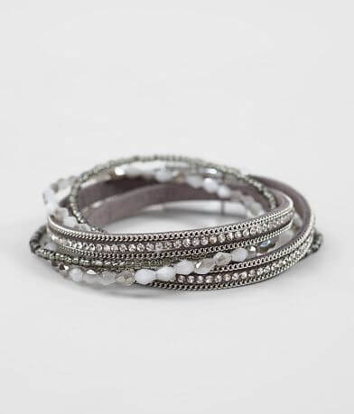 BKE Beaded Wrap Bracelet
