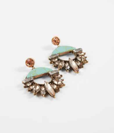BKE Glitz Statement Earring