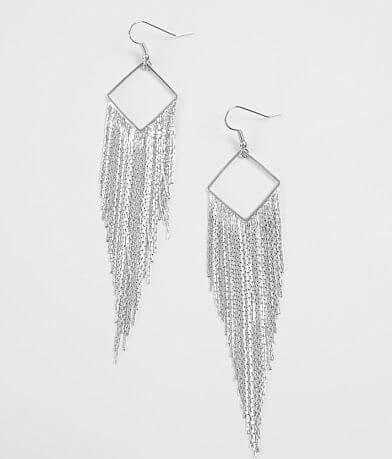 BKE Chain Fringe Earring