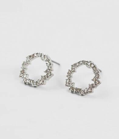BKE Circle Glitz Earring