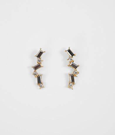 BKE Baguette Crawler Earring