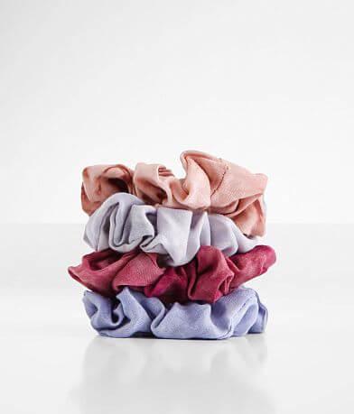 Tie Dye 4 Pack Hair Scrunchies