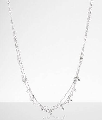 BKE Dainty Rhinestone Necklace