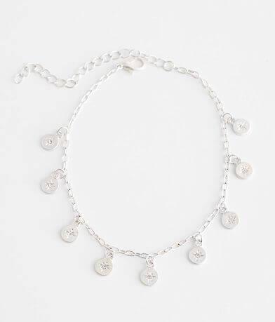 BKE Starburst Ankle Bracelet