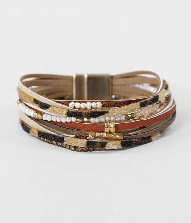 BKE Leopard Print Bracelet