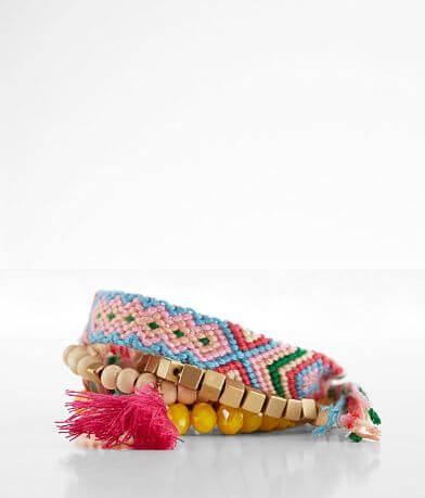BKE Bead & Thread Bracelet Set