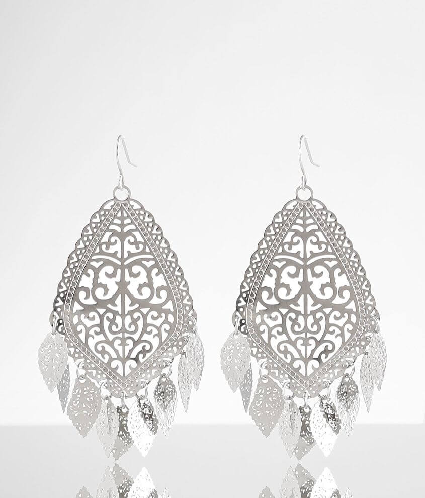 BKE Cut-Out Earring front view