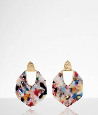 BKE Resin Statement Earring