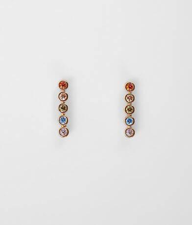 BKE Rainbow Stone Earring