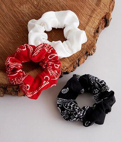 BKE 3 Pack Assorted Hair Scrunchies