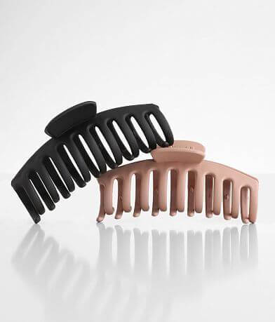 BKE 2 Pack Claw Hair Clip Set