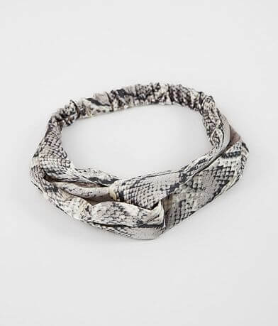 BKE Snake Print Headband