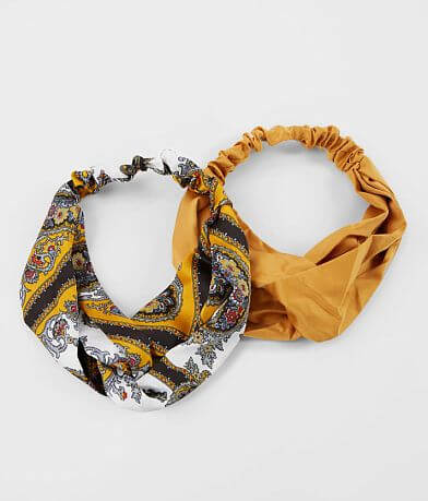 BKE 2 Pack Knotted Headbands