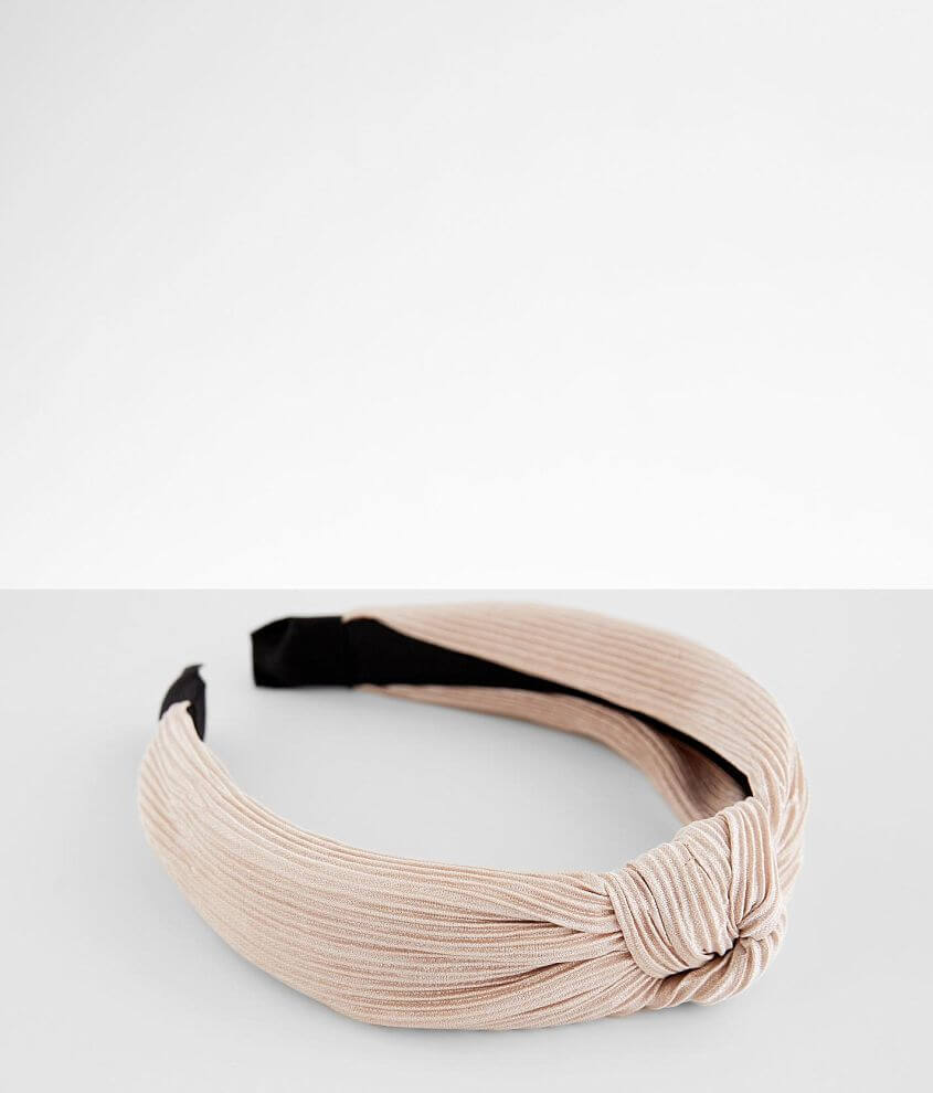 BKE Pleated Headband front view