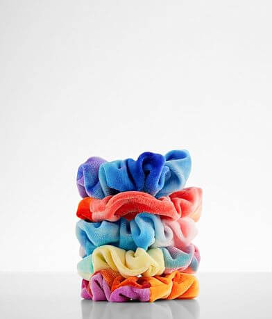 BKE 5 Pack Tie Dye Hair Scrunchies