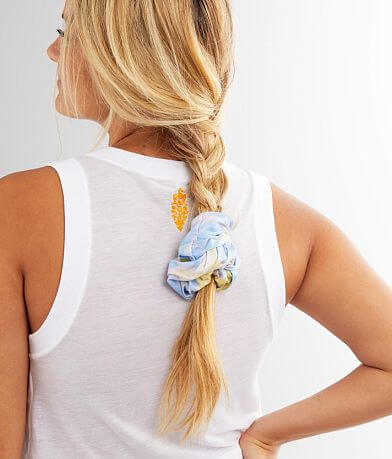 Oversized Tie Dye Hair Scrunchie