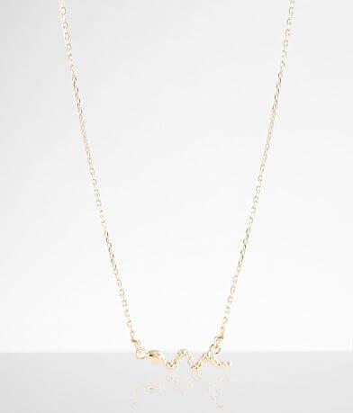 BKE Snake Pendant Necklace