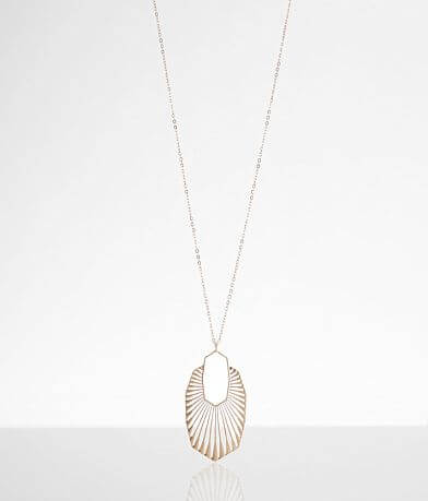BKE Metal Pendant Necklace