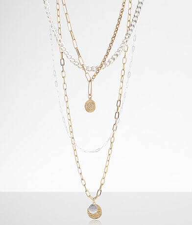 BKE 4 Pack Chain Necklace Set