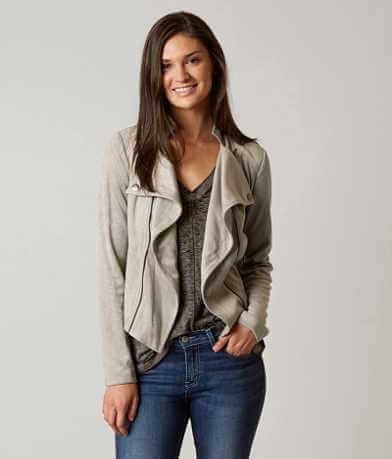 Romeo + Juliet Couture Faux Suede Jacket