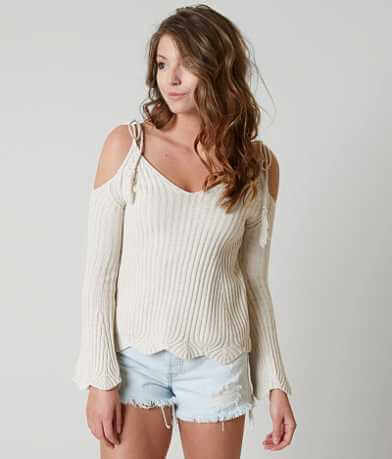 Romeo + Juliet Couture Ribbed Sweater