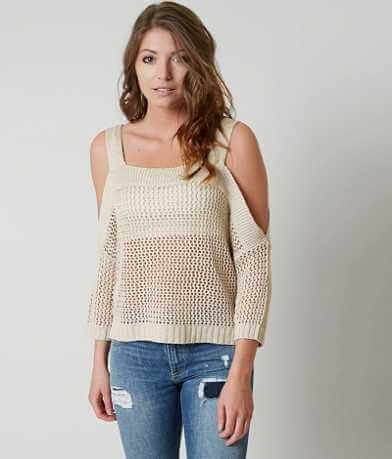 Romeo + Juliet Couture Cold Shoulder Sweater