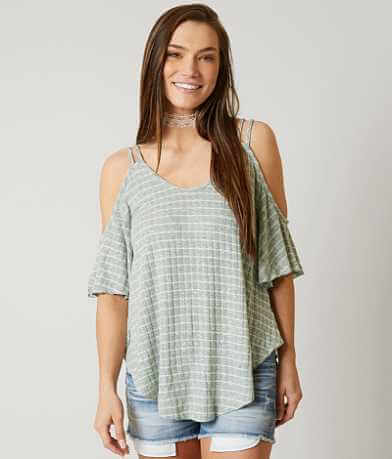 Romeo + Juliet Couture Striped Top
