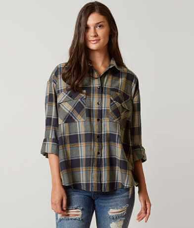 Romeo + Juliet Couture Plaid Shirt