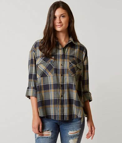 Romeo + Juliet Couture Plaid Shirt