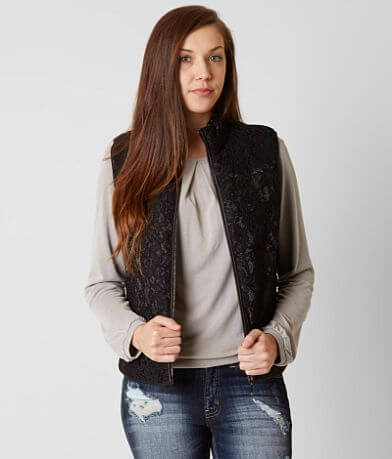 Daytrip Lace Puffer Vest