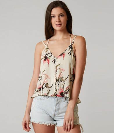 Ivory Love Floral Tank Top