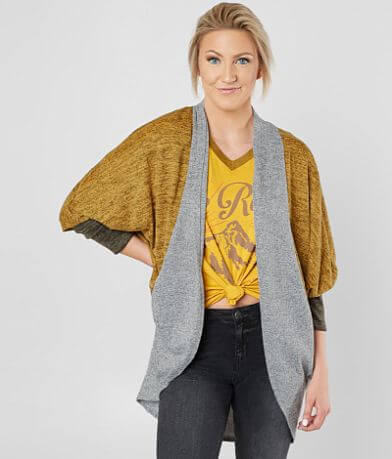 Daytrip Color Block Cocoon Cardigan