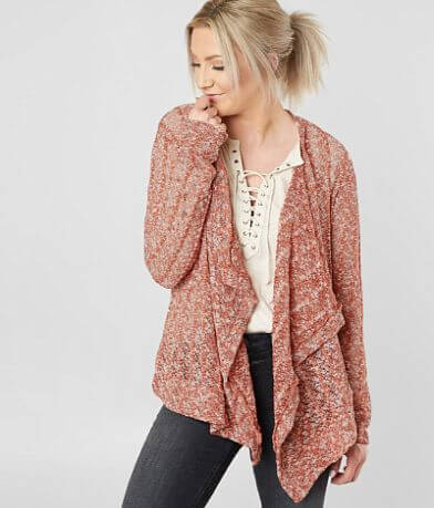 Willow & Root Open Weave Cardigan