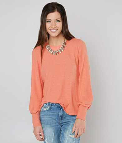 Daytrip Reverse Fleece Top
