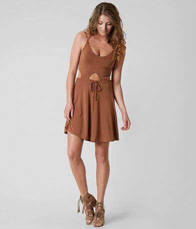 Ivory Love Cupro Dress