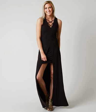 willow & root Ribbed Maxi Dress